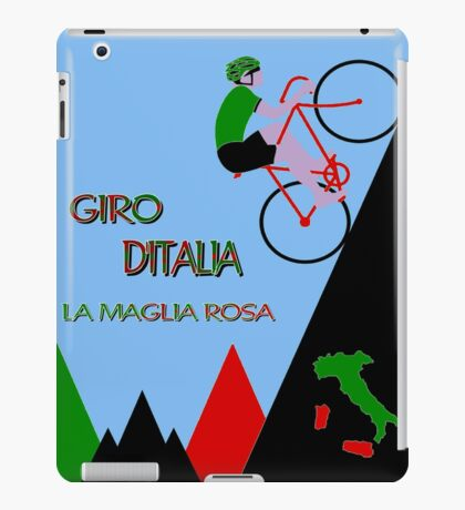 """GIRO D ITALIA BICYCLE"" Racing Advertising Print iPad Case/Skin"