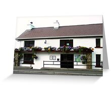 The Rusty Nail Pub, Inishowen Peninsular, Donegal, Ireland Greeting Card