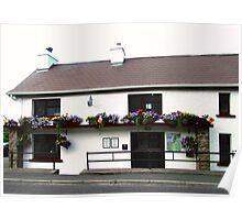 The Rusty Nail Pub, Inishowen Peninsular, Donegal, Ireland Poster