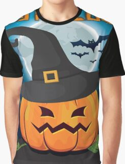 High Quality Happy Halloween Pumpkin Tapestry, Trick-or-Treat Bags and Cards  Graphic T-Shirt