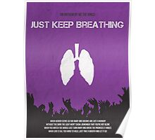 Just Keep Breathing Poster