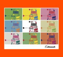 Dalek Warhol Kids Clothes