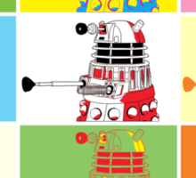 Dalek Warhol Sticker