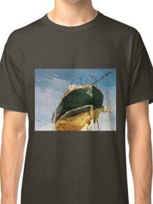 Green Boat Reflections Classic T-Shirt