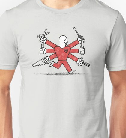 The Most Useful Man in Switzerland Unisex T-Shirt