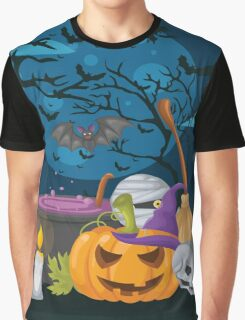High Quality Halloween design Tapestry and Candy Bag  Graphic T-Shirt