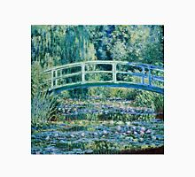 Claude Monet - Water Lilies and Japanese Bridge (1899)  Unisex T-Shirt