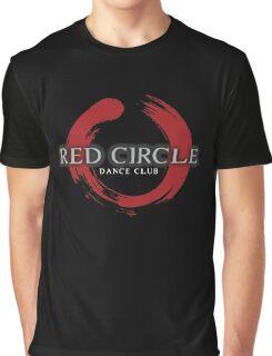 Red Circle Night Club Graphic T-Shirt