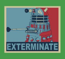 Dalek Hope One Piece - Short Sleeve