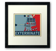 Dalek Hope Framed Print