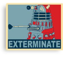 Dalek Hope Canvas Print