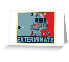 Dalek Hope Greeting Card