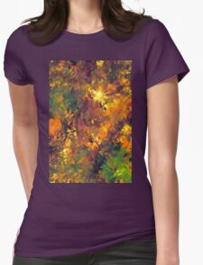 Abstract 98 Womens Fitted T-Shirt