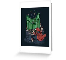 The Plumber of the Opera Greeting Card