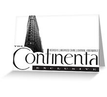 The Continental Hotel Greeting Card