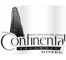 The Continental Hotel Poster