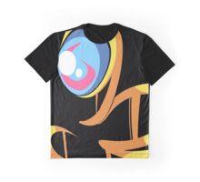 Yellow Ghost Graphic T-Shirt