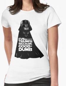 Dark Helmet - Fan art Womens Fitted T-Shirt