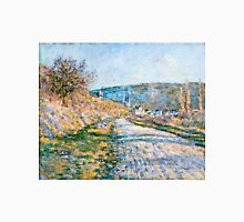 Claude Monet - The Road to Vetheuil (1879)  Unisex T-Shirt