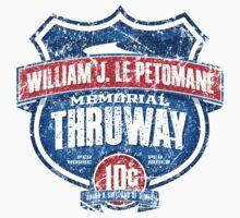 William J. LePetomane Memorial Thruway Baby Tee