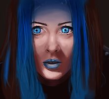 illyria speed painting by tantoun A