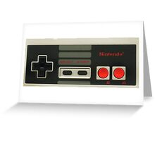 Retro videogame  Greeting Card
