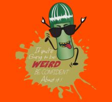 Be Weird  Kids Tee