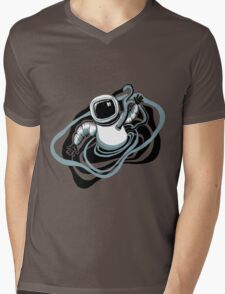 Space Man  Mens V-Neck T-Shirt