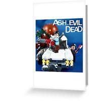 Lego Ash Versus The Evil Dead Greeting Card