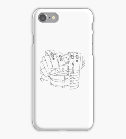 roman armour deconstructed iPhone Case/Skin