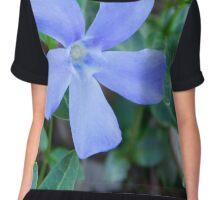 The Blue Flower Chiffon Top