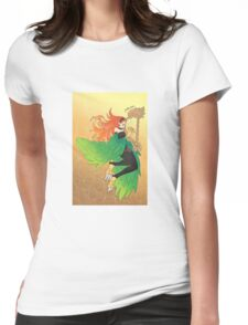 Harpie Harpist Womens Fitted T-Shirt