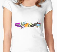 Heavy Boobs Women's Fitted Scoop T-Shirt