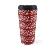 Random doodle 5 red wine  Travel Mug