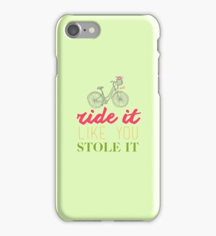 Stolen Bicycle | Cute Collection iPhone Case/Skin