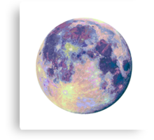 Moon Canvas Print