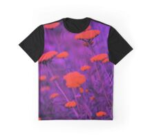Floral Chromatic Overkill Graphic T-Shirt
