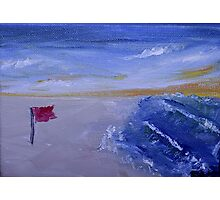 Red Flag Day  Photographic Print