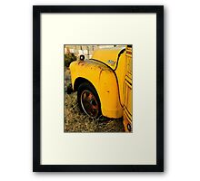 The Old Bus Framed Print