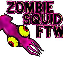 Zombie Squid FTW by zombiemama