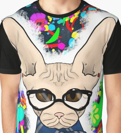 Altered Self Portrait Graphic T-Shirt