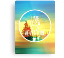 New Adventure 2.0 Metal Print