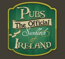Pubs - the official sunblock of Ireland by digerati