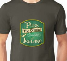 Pubs - the official sunblock of Ireland Unisex T-Shirt