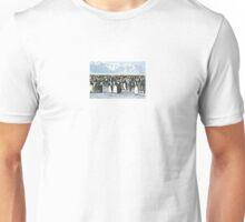 Auster Rookery, Emperor Penguins 2 Unisex T-Shirt