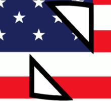 Go Heels, Go America Sticker
