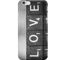 Love Is A Beautiful Word iPhone Case/Skin