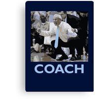 Coaching the Carolina Way Canvas Print