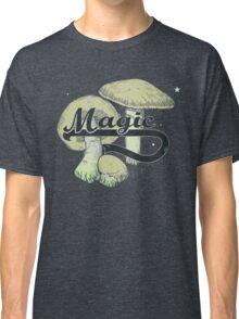 Magic Mushrooms Vintage Design Shrooms Classic T-Shirt