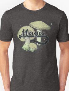 Magic Mushrooms Vintage Design Shrooms Unisex T-Shirt